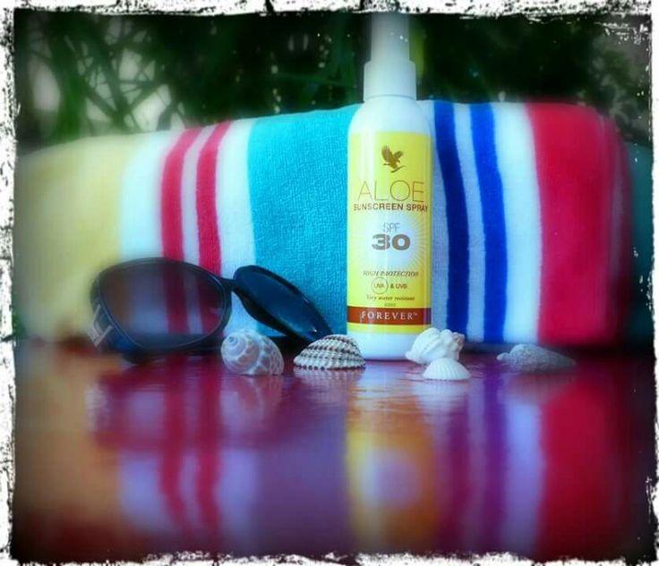 Thanks #Foreverliving for the free gift #Aloe #sunscreen #spray SPF 30 !