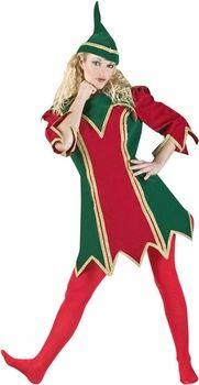 womens elf costume theatre #christmas