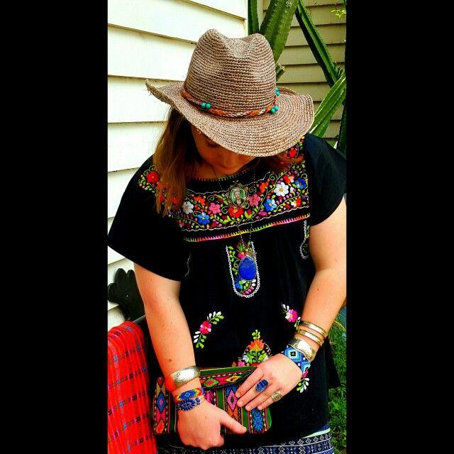 Love colour..lapisscarves and blouses