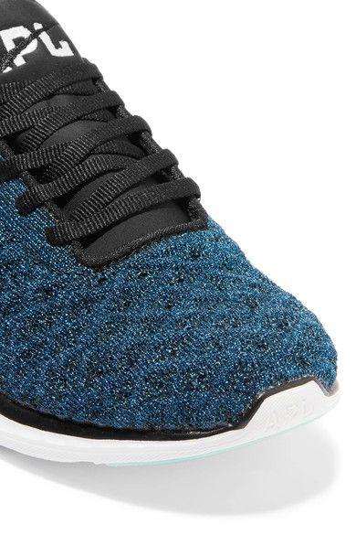 Athletic Propulsion Labs - Techloom Phantom 3d Metallic Mesh Sneakers - Royal blue - US