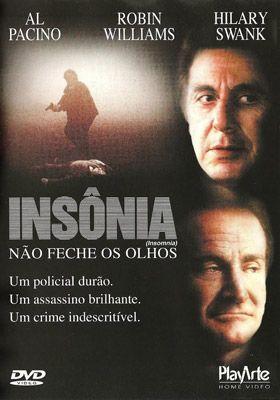 Um filme de Christopher Nolan com Al Pacino, Robin Williams, Hilary Swank, Nicky Katt. Will Dormer (Al Pacino) é um policial enviado para uma pequena cidade do Alasca onde, em meio às investigações em torno do assassinato de uma adolesce...