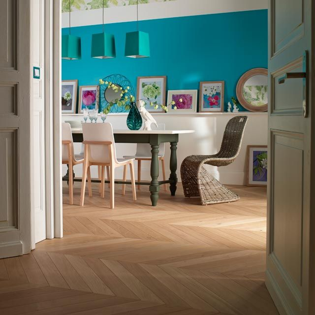 parquet contrecoll naturio point de hongrie ch ne castorama parquet pinterest chevron. Black Bedroom Furniture Sets. Home Design Ideas