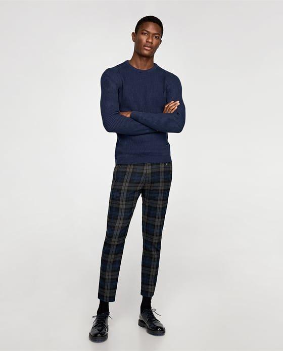 Les 25 meilleures idees de la categorie pantalons a for Pantalon carreaux homme