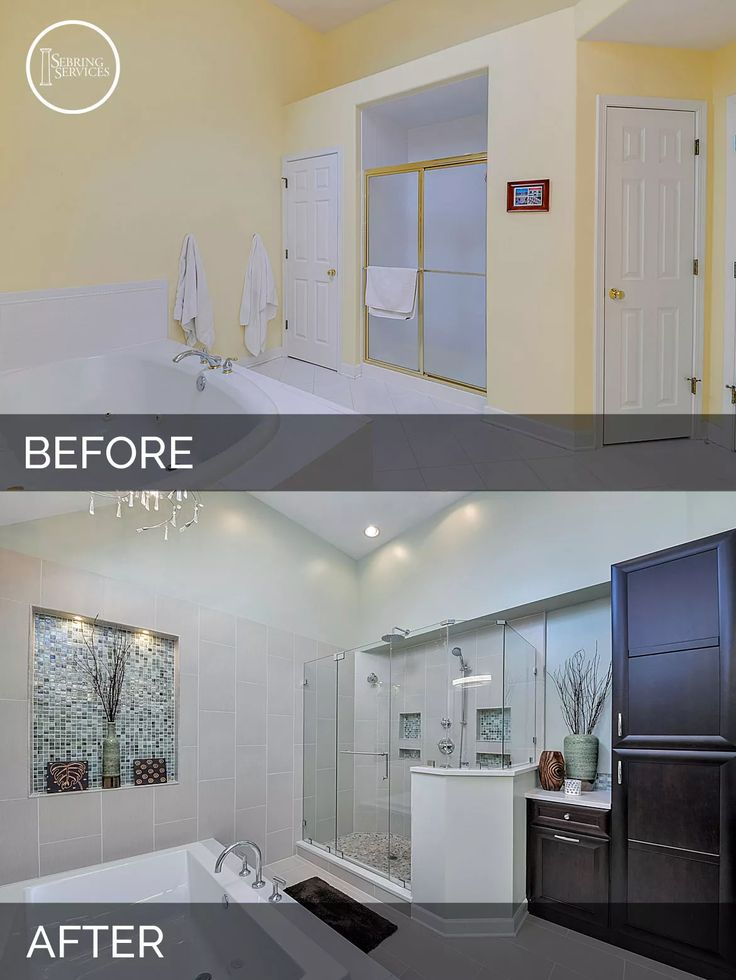 Master Bathroom Remodels Before And After 421 best house reno remodel before & after images on pinterest