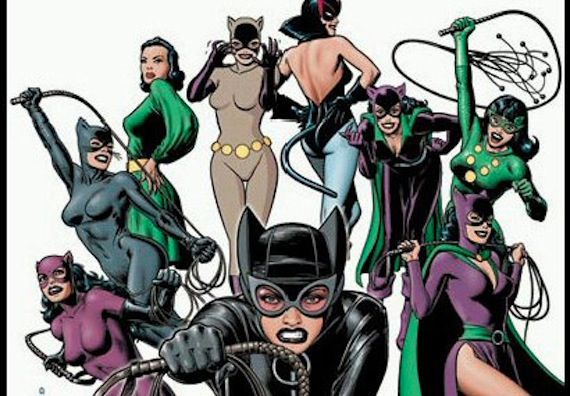 Catwoman outfits over the years