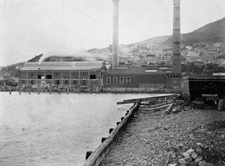 Destructor from Clyde Quay, circa 1890.