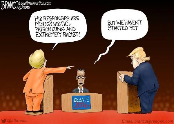 Cartoon: Clinton Trump Debate http://patriottribune.com/44546/clinton-trump-debate/