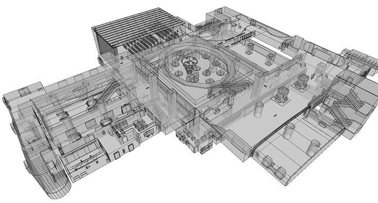 Takedown Basic Level Design, REPUBLIC OF iAKi on ArtStation at https://www.artstation.com/artwork/ykwGn