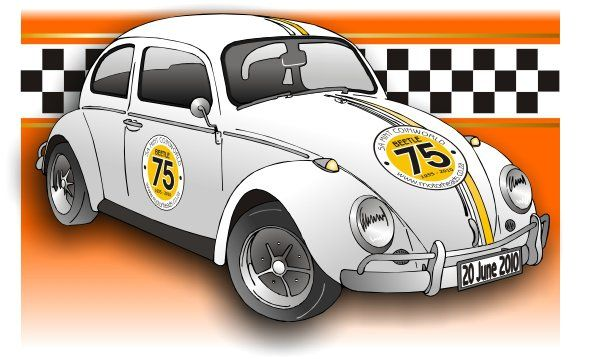 Our Car was used for the 75th Adverts
