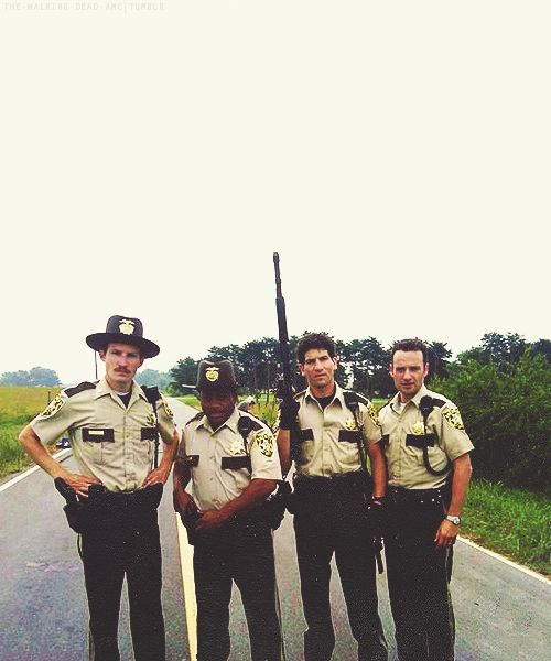 "King County Sheriff's Department ""I was the police here. Me and a few other guys. Ain't a big town."" - Rick Grimes"
