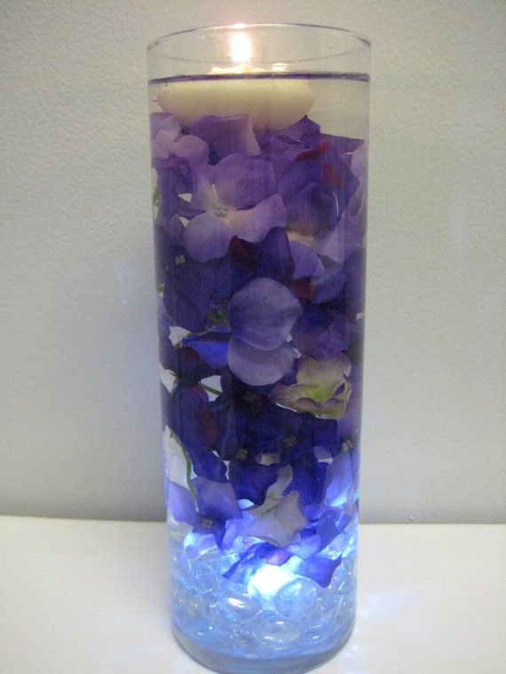 Best purple hydrangea centerpieces ideas on pinterest