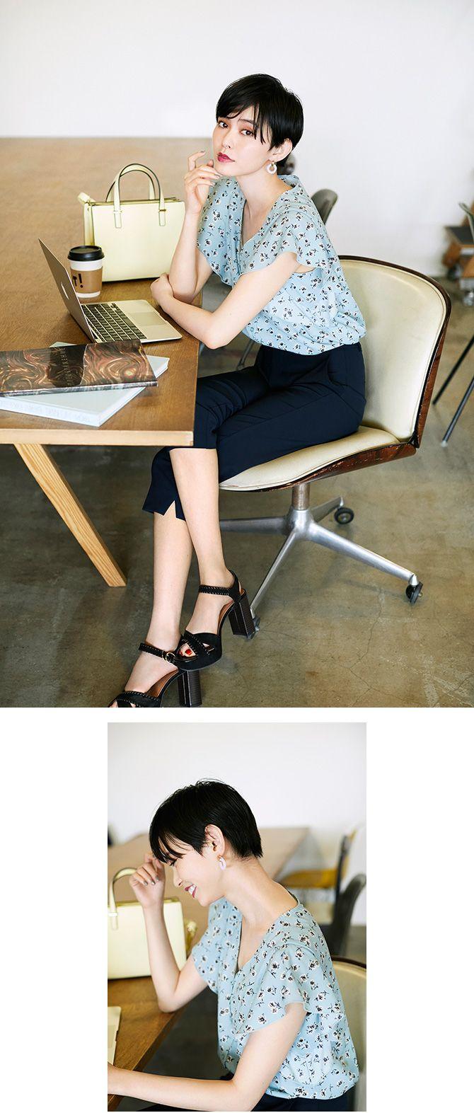 gu ジーユー gu通勤 きれいめol参上 トレンドファッション 最新ファッション トレンド