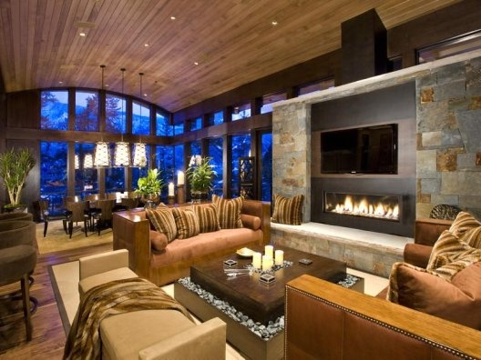 barrel vault ceiling with contemporary fireplace and furniture nice blend of traditional and contemp ceiling avant garde