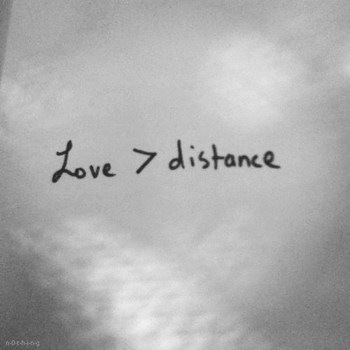 Wow...this speaks deeply to me...love is greater than the distance to heaven.