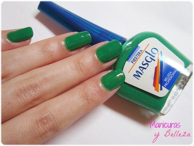 Swatch esmalte Fiestera de Masglo verde