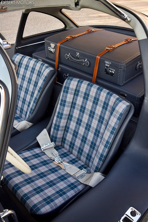 Mercedes benz 300 sl gullwing racing plaid seats material - Car interior upholstery material ...