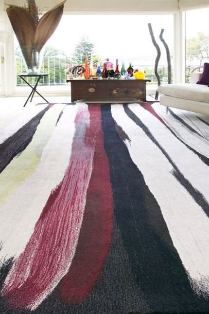 From An Australian Rug Company Named Designer Rugs Comes This New Zealand Wool Created By Indigenous Artist Minnie Pwerle Piece Is Taken Her