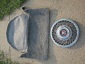 a 1985 cadillac deville wheel cover hub cap spare tire cover