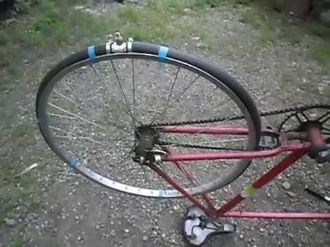 Изобретаю велосипед.Колесо маховик.