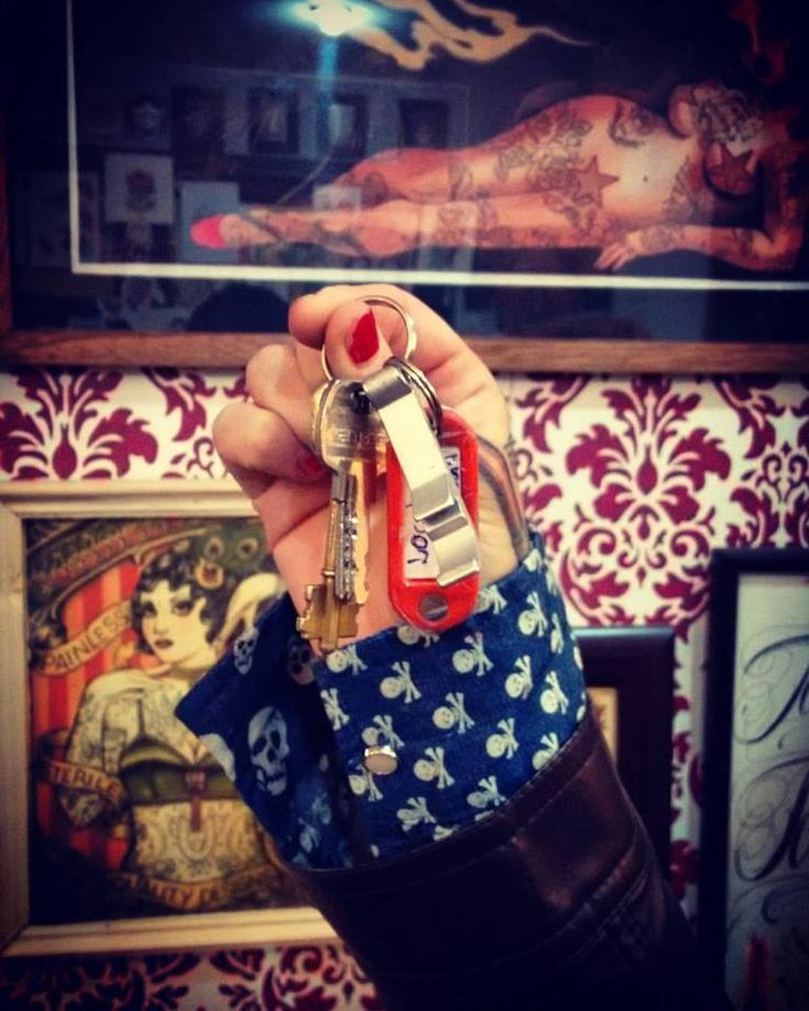 yaa tenemos las llaves!!! proximamente time tattoo olavarria 2831, mar del plata!