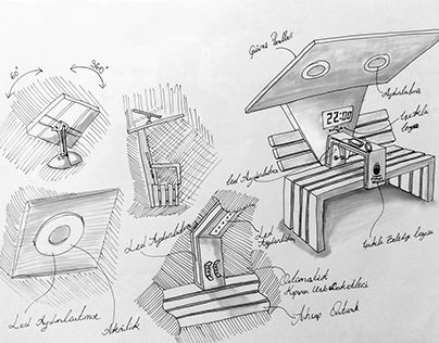 """Check out new work on my @Behance portfolio: """"Bench Sketch"""" http://be.net/gallery/47030083/Bench-Sketch"""