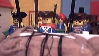 Lego -- Battle of New Orleans, via YouTube.