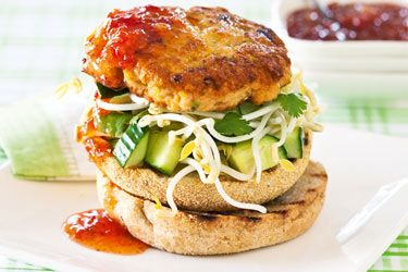 Thai fish burger recipe  @MyMaxSea