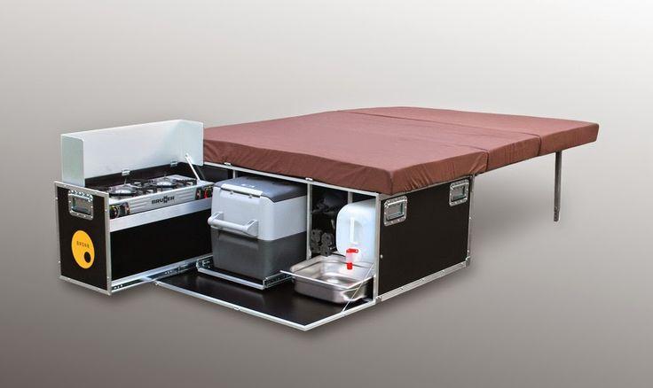 Ausgebauten Kastenwagen - Campingbusse auf dem Caravan Salon