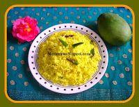 Mamidikaya Annam (Green  Mango Rice )