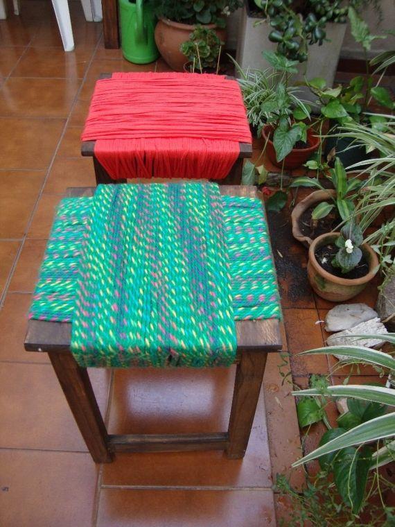 Banquitos de madera vos elegis el color - Bancos - Muebles - 492684