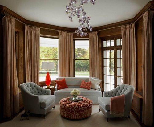 Romantic Living Room Design By Robyn Karp Like The Small, Round, Tufted  Ottoman U0026 The Scale, Shape Of The Two Chairs Part 98