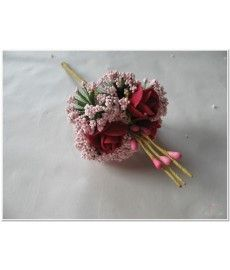 Corsage Mini Roos New Style -Pick Pink-Roze