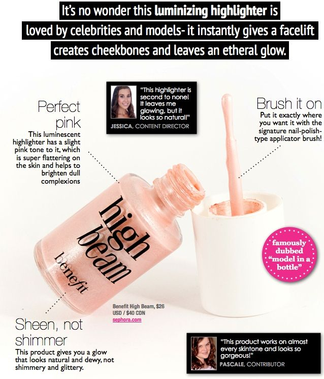 Benefit Cosmetics High Beam Review – Beautiful Highlighter and Skin Luminizer
