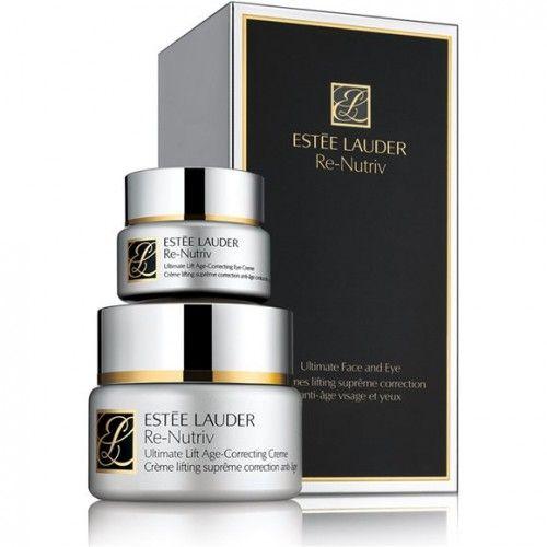 Estée Lauder Re-Nutriv Set 50ml Ultimate Lift Age-Correcting Creme + 15ml Ultimate Lift Age-Correcting Eye Creme - Estee Lauder parfum Unise...