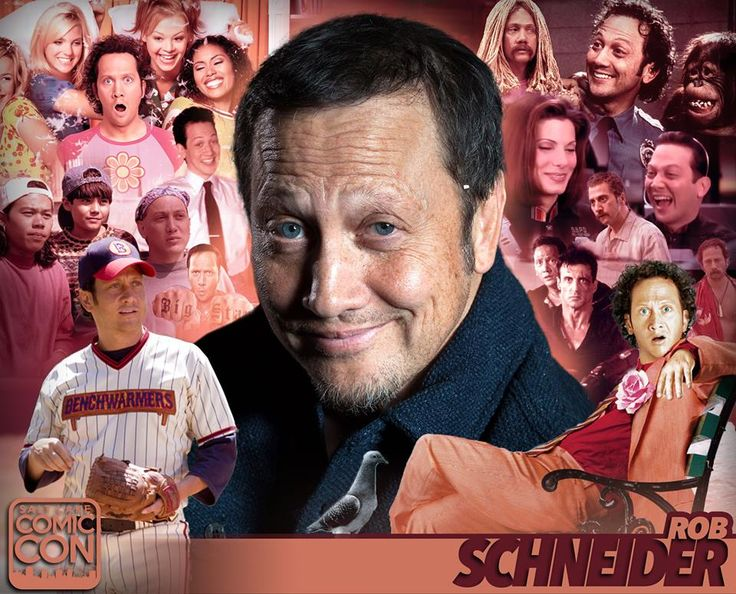 Meet actor Rob Schneider at #SLCC17! SNL, Deuce Bigalow, Grown Ups, Adam Sandler flicks, Real Rob, and more!  #utah