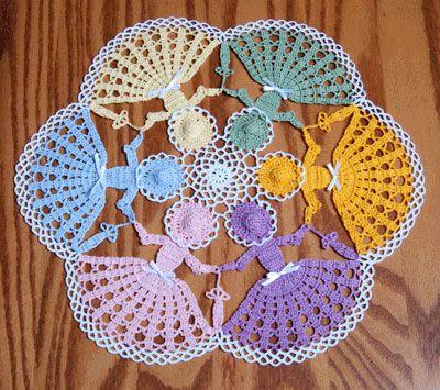 circle of friends crochet pattern - Google Search