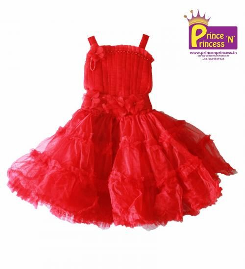 Cute Girls Party and Birthday Frock..Princess Frock.. BUY Online @ www.princenprincess.in