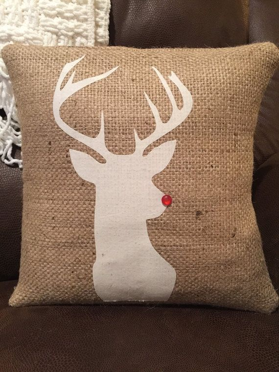 reindeer pillow                                                                                                                                                     More