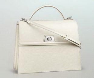 Louis Vuitton Sevigne Bolsos de Mano/Bolsos de Hombro M4051J Marfil Blanco