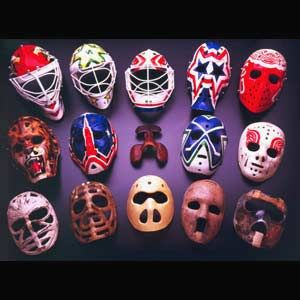 Legends of Hockey Goalie Masks
