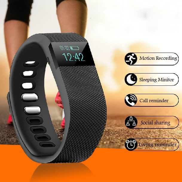 New Bluetooth Waterproof Smart Watch with Pedometer