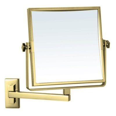 Nameeks AR7709 Square Wall Mounted Makeup Mirror - NAMEEKS AR7709-O-3X