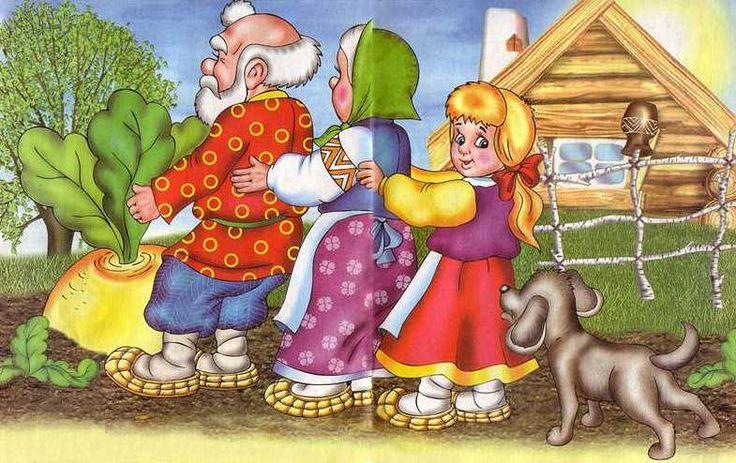 5   Könyvet olvas (Répa). Orosz tündérmese. Oldal # 1