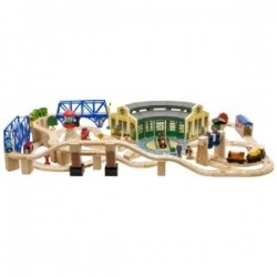 Thomas and Friends Trains are a fun timeless toys that are built with quality construction. Thomas and Friends is one of the most popular television shows for young children. Thomas and Friends Trains in wood and plastic. These are the best train sets for little kids. Boys and girls both adore Thomas and Friends Trains.