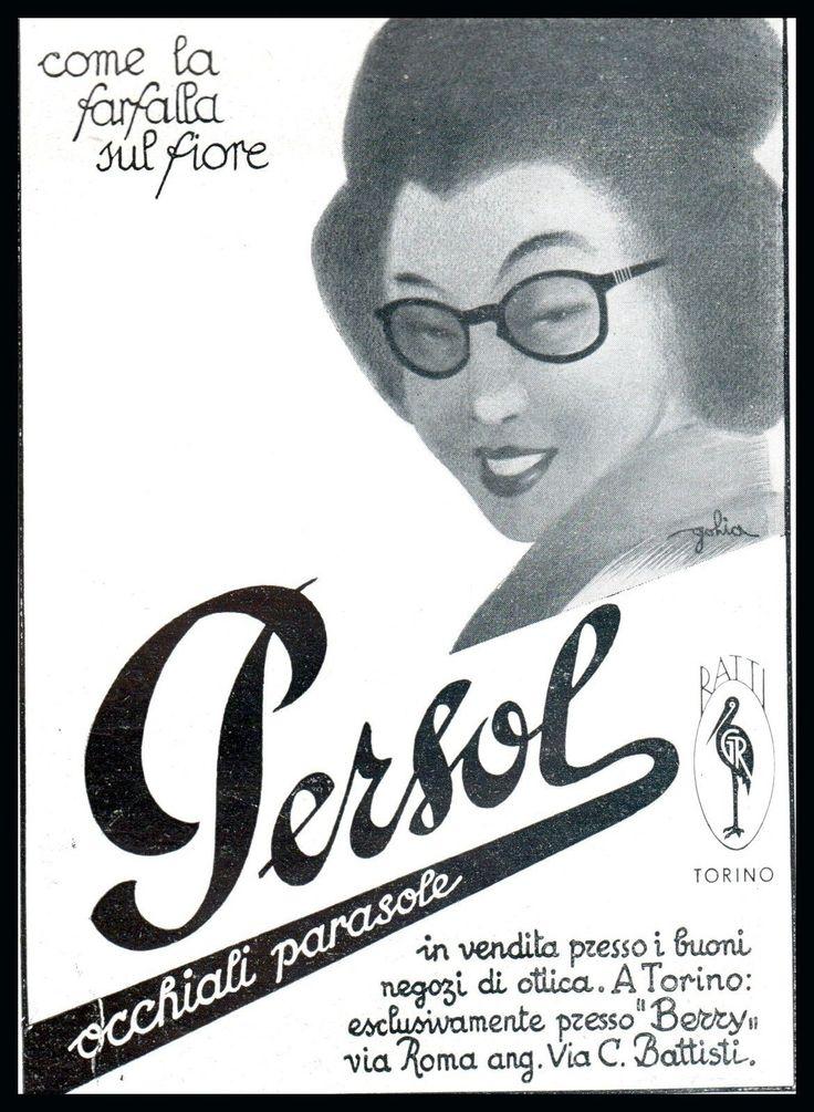 OCCHIALI DA SOLE PERSOL DONNA GIAPPONESE MODA ELEGANZA RATTI TORINO GOLIA 1942 it.picclick.com