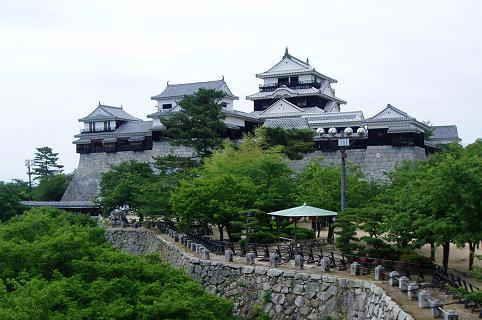 日本三大連立式平山城|松山城
