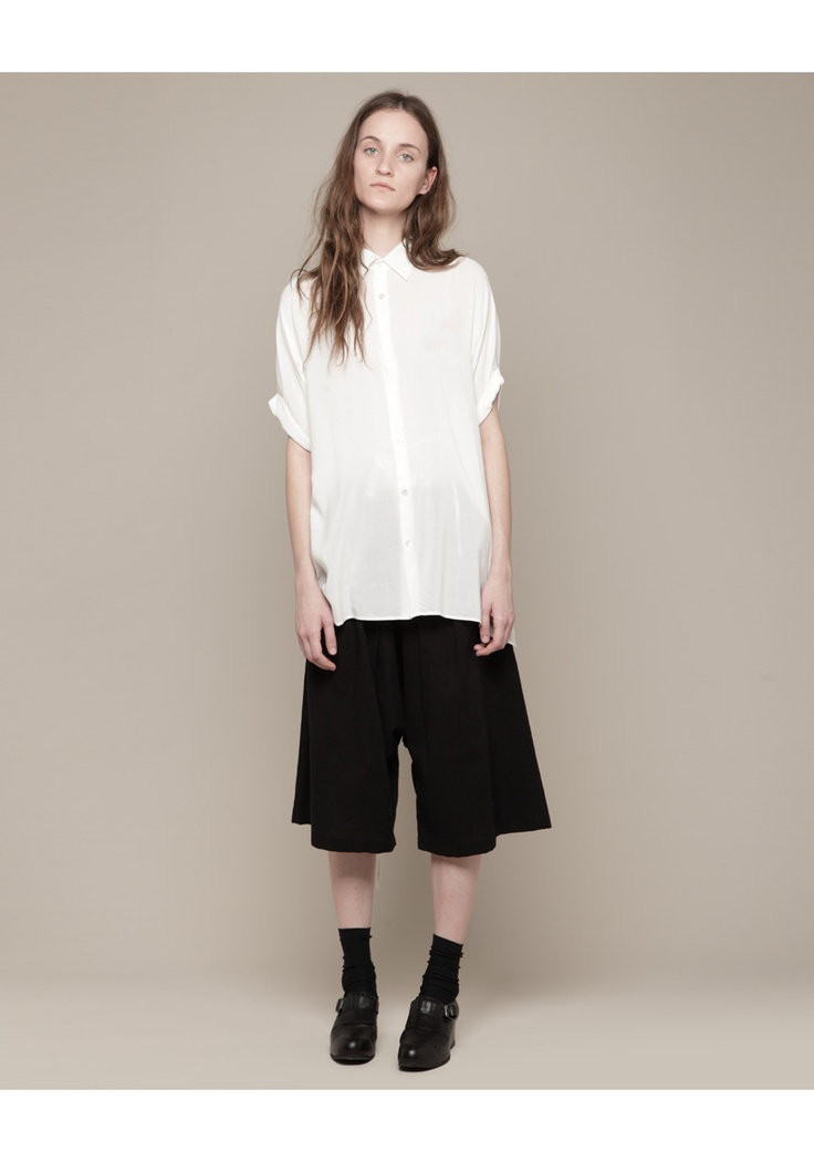 YOHJI YAMAMOTO /  OPEN SIDE BLOUSEClothing Piece, Style, Side Blouses, Inspiration Boards, Fashion Inspiration, Yohjiyamaoto Open, Yohji Yamamoto