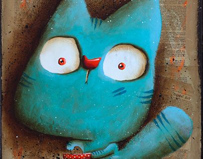 """Check out new work on my @Behance portfolio: """"!!!NEWS - cat wants to eat"""" http://be.net/gallery/59079723/NEWS-cat-wants-to-eat"""