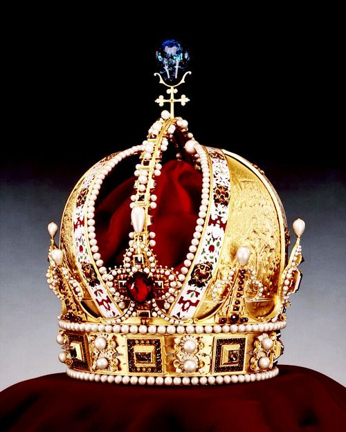 TheImperial Crown of Austria(German:Österreichische Kaiserkrone) is the crown worn by Holy Roman Emperors from theHouse of Habsburgfrom the 16th century to 1806
