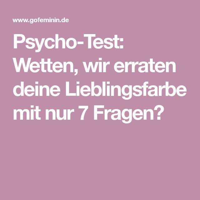 Psycho-Test: Wetten, wir erraten deine Lieblingsfarbe mit nur 7 Fragen?